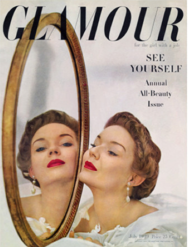 July 1949 Glamour cover