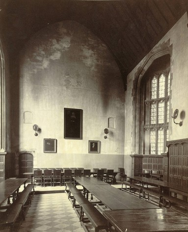 Cambridge, Christ's College, Dining Hall