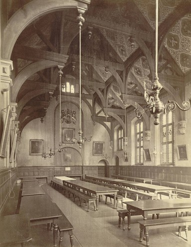 Cambridge, Gonville and Caius College, Dining Hall