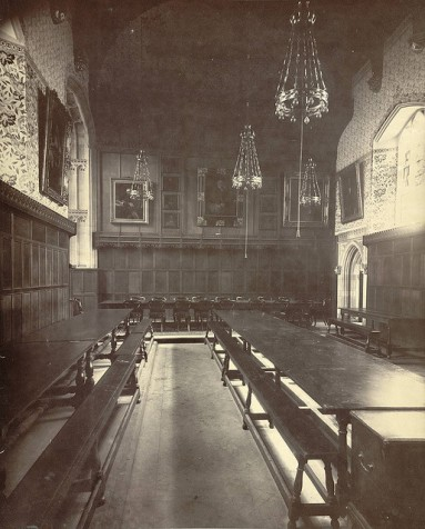 Cambridge, Peterhouse, Dining Hall