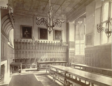 Cambridge, St Catherine's, Dining Hall