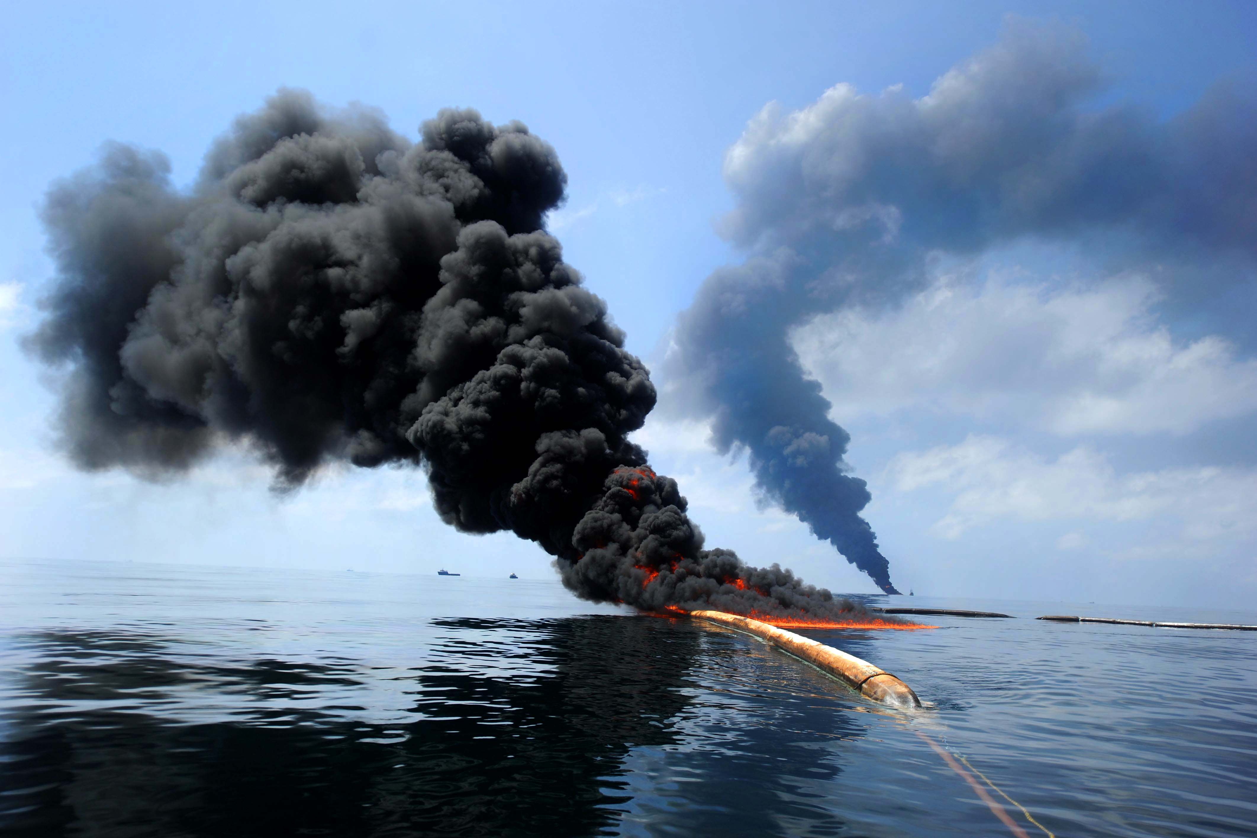The Deepwater Horizon oil spill also referred to as the BP oil spillleak the BP oil disaster the Gulf of Mexico oil spill and the Macondo blowout is an