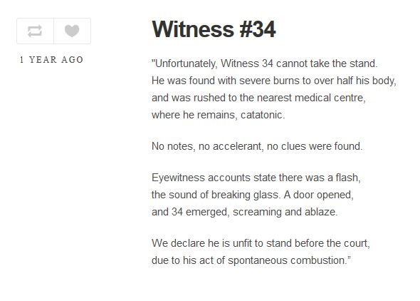 Reading The Icc Witness Project Unwitness 20 22 34 The New