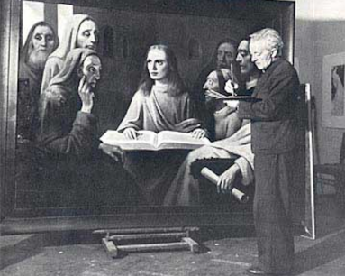 "A van Meegeren ""Vermeer"" on trial"