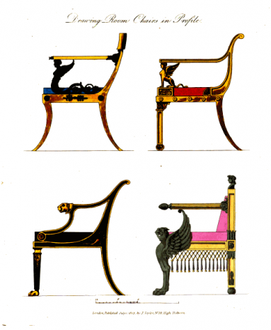 A Collection of Designs for Household Furniture 3