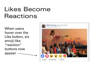 reacting to reactions 1