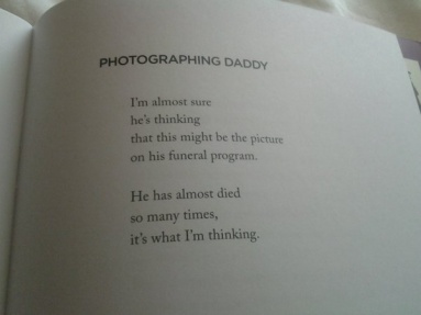 photographing daddy