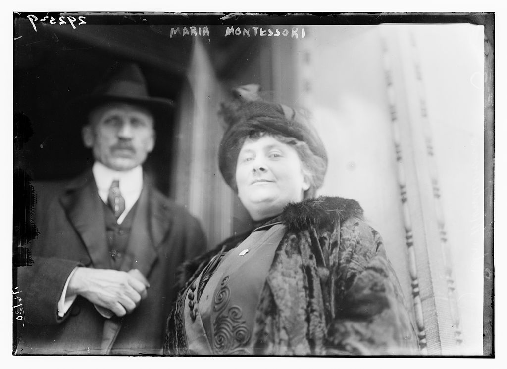 Maria Montessori (ca. 1910-1915). (Library of Congress via George Grantham Bain Collection   No restrictions apply)